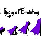 Goth Gal Theory of Evolution by Madison Scythe
