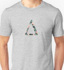 Delta Floral Greek Letter Unisex T-Shirt