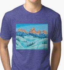 Alpen Glow Tri-blend T-Shirt