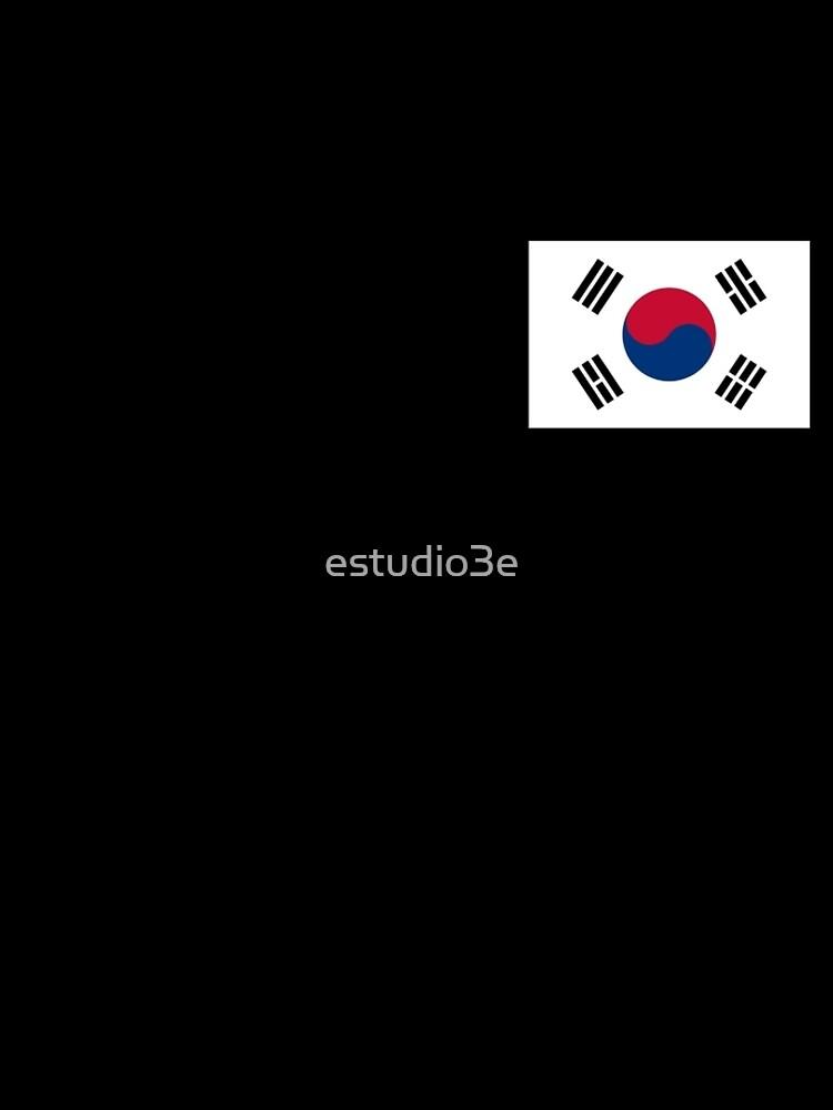 Südkorea-Flagge von estudio3e
