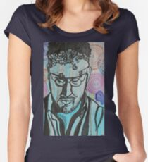 David Foster Wallace  Women's Fitted Scoop T-Shirt