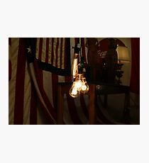 Vintage Lightbulbs Photographic Print