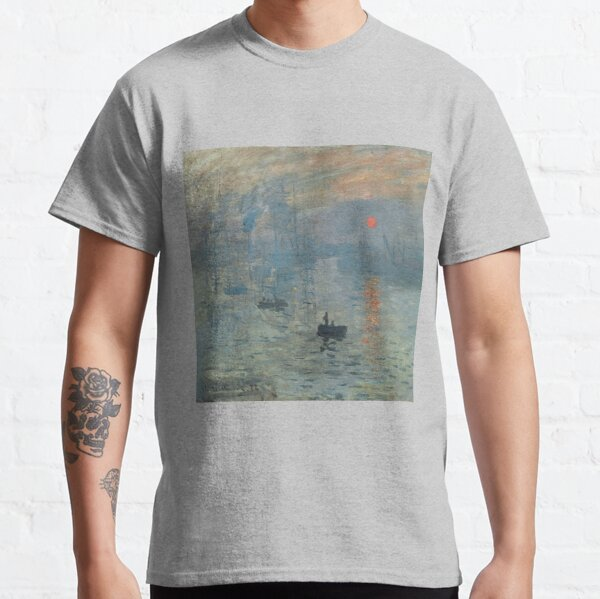 Monet Impression Sunrise Fine Art Classic T-Shirt