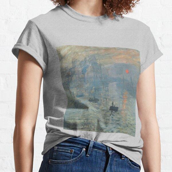 Claude Monet 1872. Huile sur toile T-shirt classique