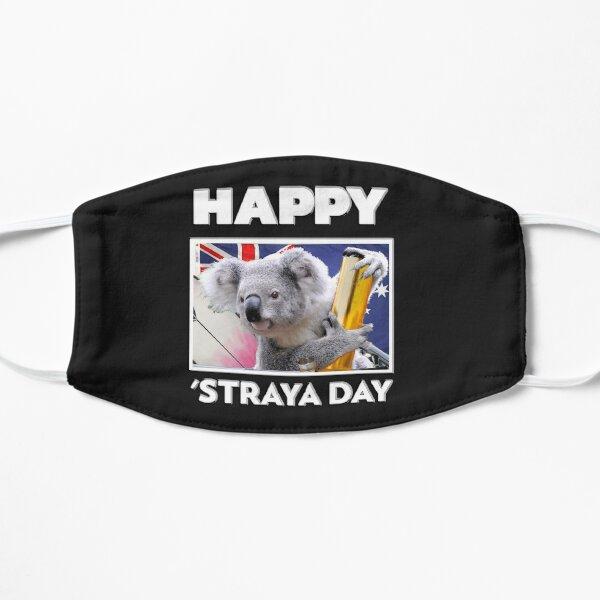 Happy 'Straya Day Flat Mask