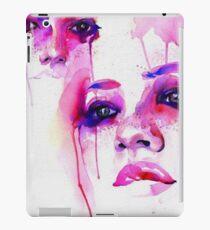 Water Colour Pink Girls  iPad Case/Skin