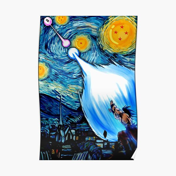 blue sky strengh Poster