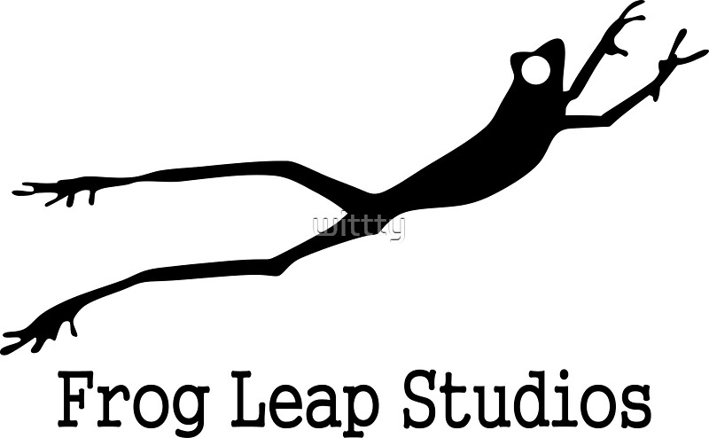 Frog leap studios stickers redbubble for Frog studio