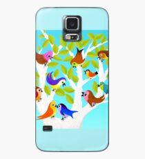 Funda/vinilo para Samsung Galaxy Chatty Little Birds