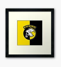 MGS - Militaires Sans Frontieres Logo Framed Print