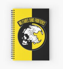 MGS - Militaires Sans Frontieres Logo Spiral Notebook