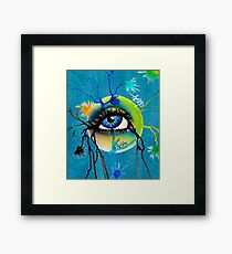 eye sphere II Framed Print