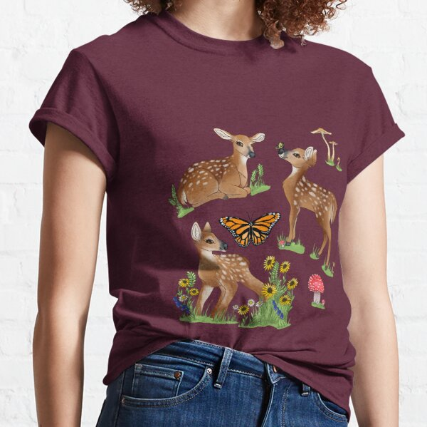 Playful Fawns Classic T-Shirt