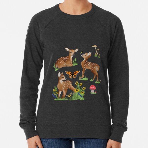 Playful Fawns Lightweight Sweatshirt