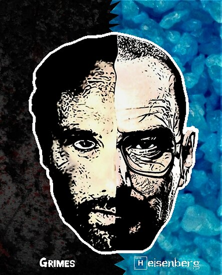 Is The Walking Dead A Sequel To Breaking Bad Youtube: Walking Bad 3D T-Shirt (Grimes And