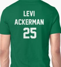 Attack On Titan Jerseys (Levi Ackerman) T-Shirt
