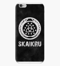 The 100 Skaikru Symbol [Black] iPhone Case