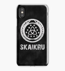 The 100 Skaikru Symbol [Black] iPhone Case