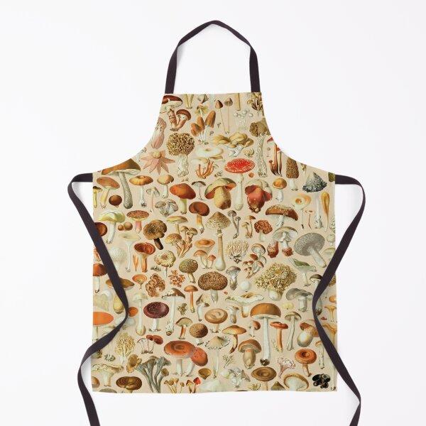 Vintage Mushroom Designs Collection Apron