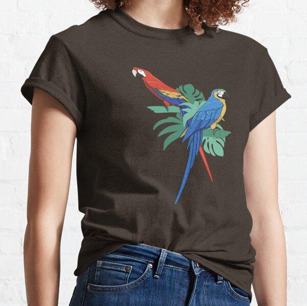 Tropical Macaws Classic T-Shirt