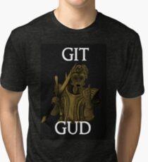 Git Gud. Tri-blend T-Shirt