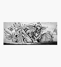Graffiti Mural Photographic Print