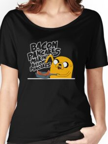 """Jake - Adventure Time """"pancakes"""" Women's Relaxed Fit T-Shirt"""