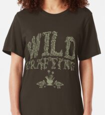 Wildcrafting: Foraging for foods and herbal medicines Slim Fit T-Shirt