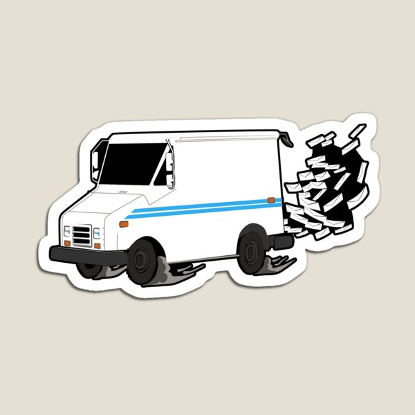 Mail Truck Magnet