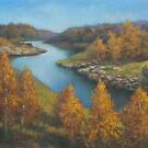Fall colours by Vira Kalinovska