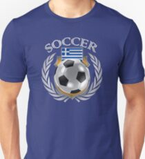 Greece Soccer 2016 Fan Gear Unisex T-Shirt