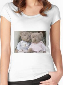teddy bears Women's Fitted Scoop T-Shirt