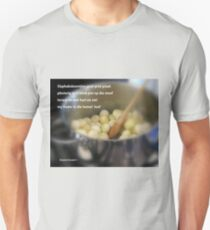 A recipe from South Africa Unisex T-Shirt