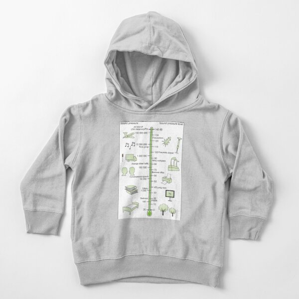 Sound pressure level Toddler Pullover Hoodie