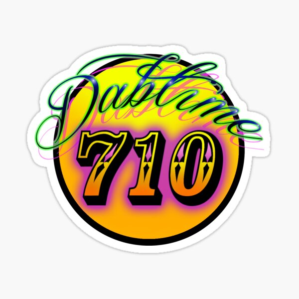 Dabtime 710 Sticker