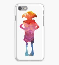 Dobby Is A Free Elf - Colourful Silhouette iPhone Case/Skin
