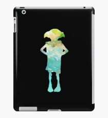 Dobby Is A Free Elf - Colourful Silhouette #2 iPad Case/Skin