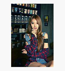 Dahye In The Bar Photographic Print