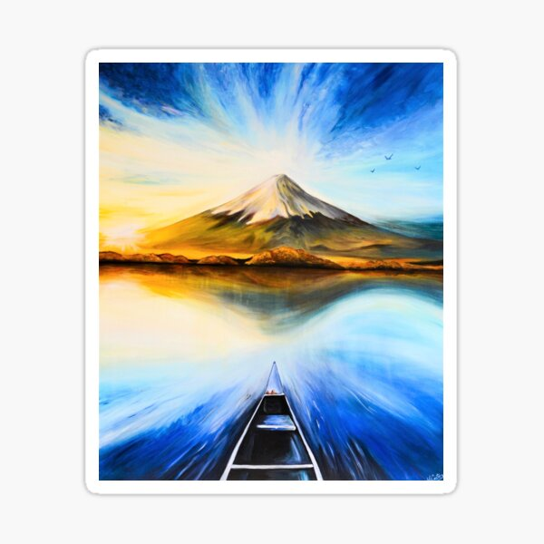 Destination Mont Fuji Sticker