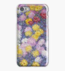 Claude Monet - Chrysanthemums  iPhone Case/Skin