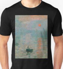 Claude Monet - Impression Sunrise T-Shirt