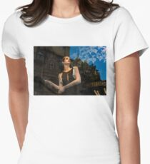 Glitter and Glamour and Chic - High Fashion Shop Window Reflections T-Shirt