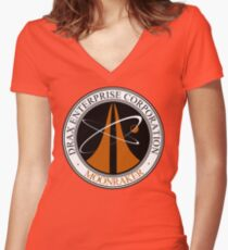 Moonraker Project Women's Fitted V-Neck T-Shirt