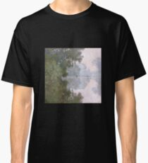 Claude Monet - Morning On The Seine Near Giverny Classic T-Shirt