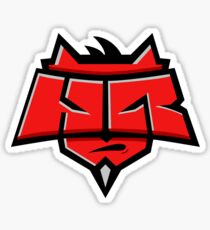 Team Hellraisers logo Sticker