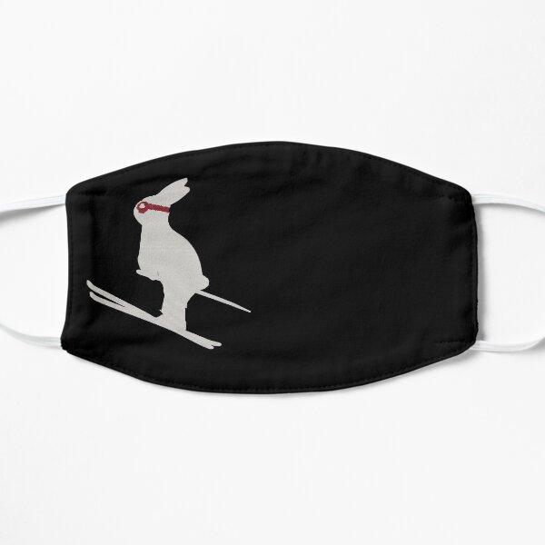 Skiing Bunny, White Snow Bunny, skiing bunny kids gift, Snow Bunny Skiing,Ski Jumping Rabbit Mask