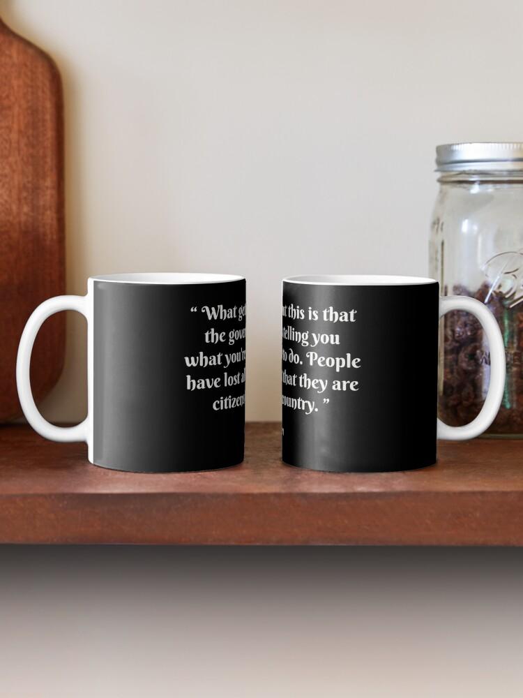 Alternate view of Gerard Batten quote Mug