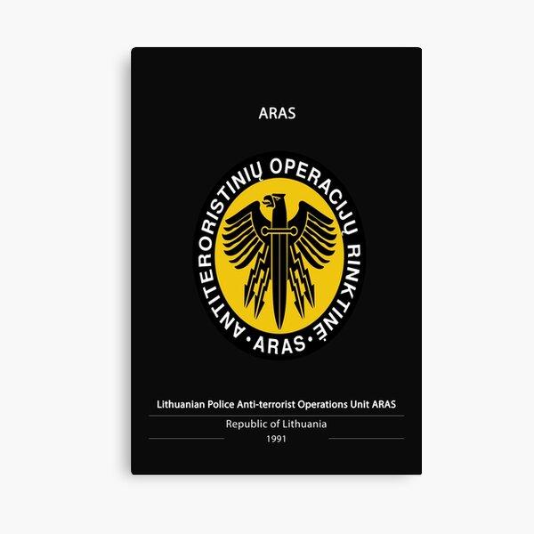 ARAS Poster Canvas Print