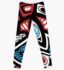 Orca Shamanic Tieremblem Leggings