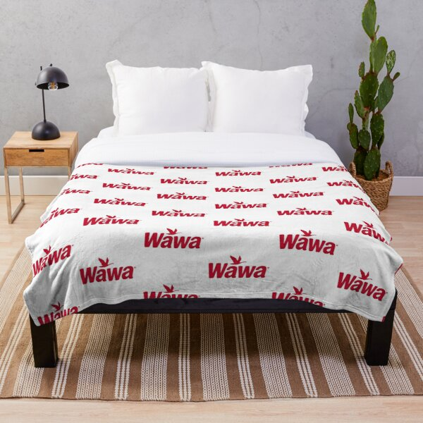 BEST SELLER - wawa logo Merchandise Throw Blanket